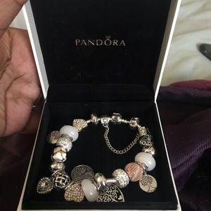 Jewelry - Pandora bracelet . MOTHERS DAY SPECIAL!